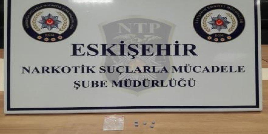Eskişehir'de 5 adet uyuşturucu hap ele geçirildi