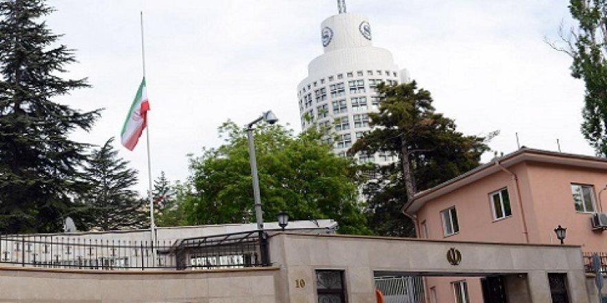 İran Büyükelçiliğinde yoğun güvenlik önlemleri
