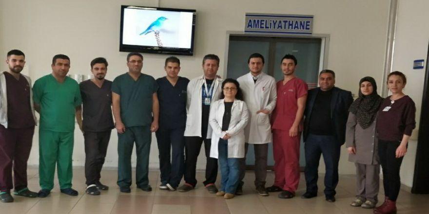 Besni ilçesinde dev bağırsak ameliyatı gerçekleştirildi
