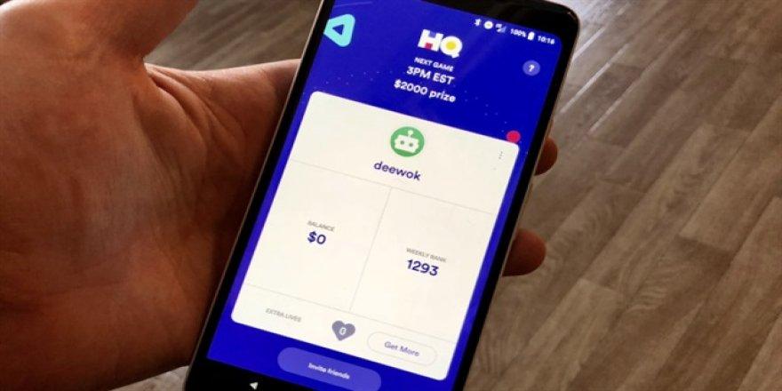 Popüler oyun HQ Trivia Android'de