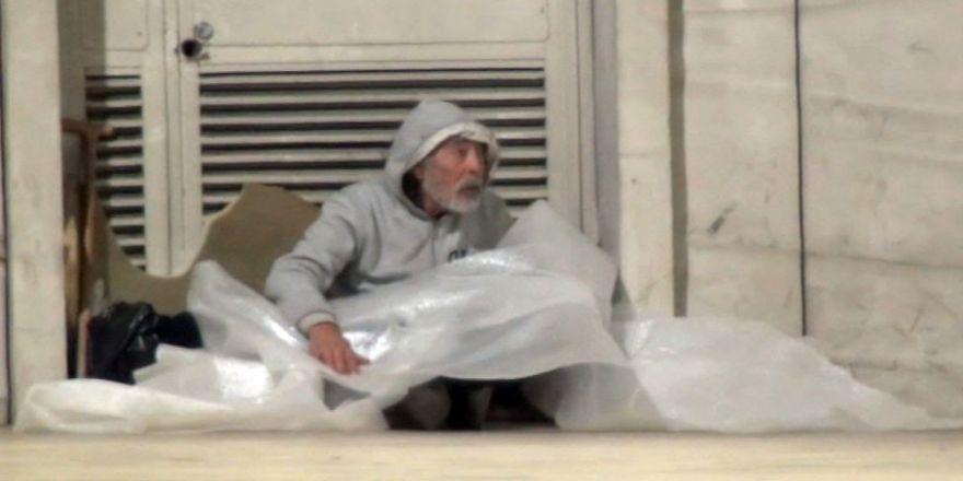 Taksim Tünelindekilerin hali yürek burktu