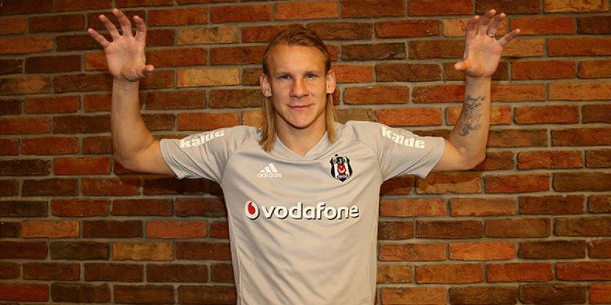 Vida, resmen Beşiktaş'ta