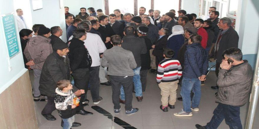 Kaymakam Dundar'dan hastane ziyareti