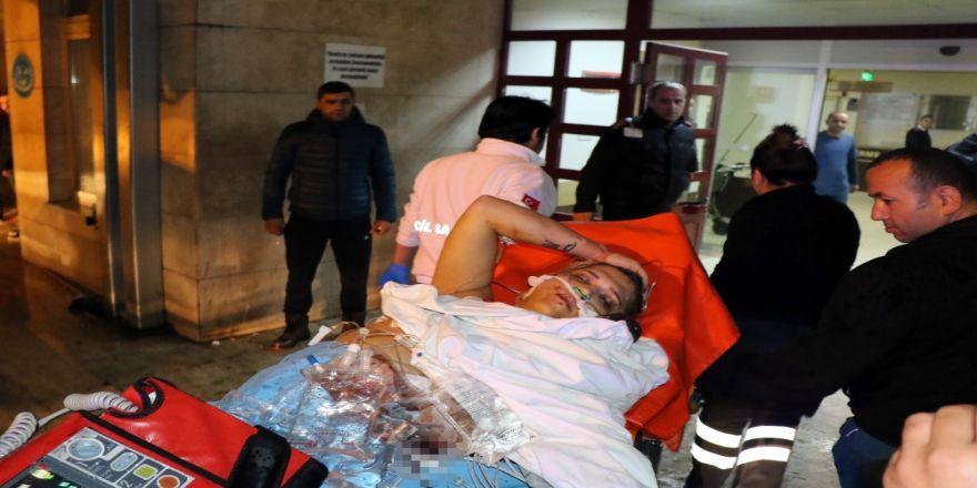Yaralı halde hastane bahçesine bırakılmıştı: Hayatını kaybetti