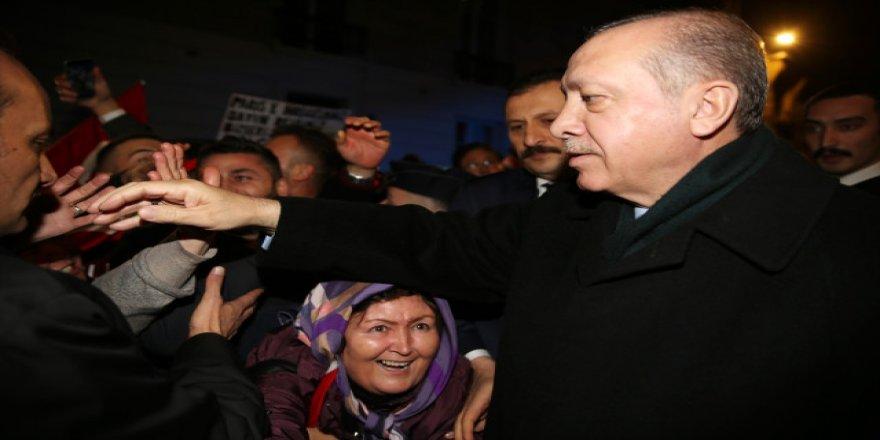 Cumhurbaşkanı Erdoğan'ın Fransa'da sürpriz daveti