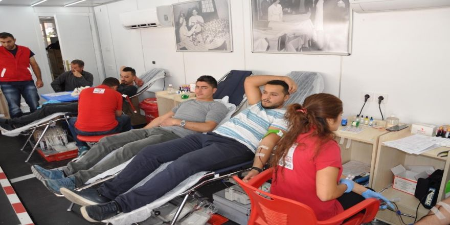 Sorgun'da Kan bağışı kampanyası