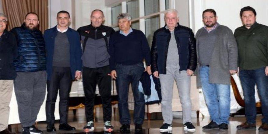 Lucescu, Bursaspor kampını ziyaret etti