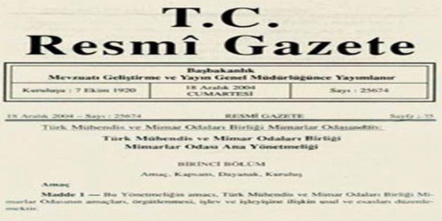 Arazi toplulaştırma kararı Resmi Gazete'de