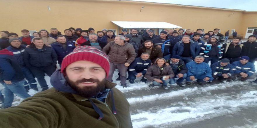 İşçiler greve gitti, üretim durdu