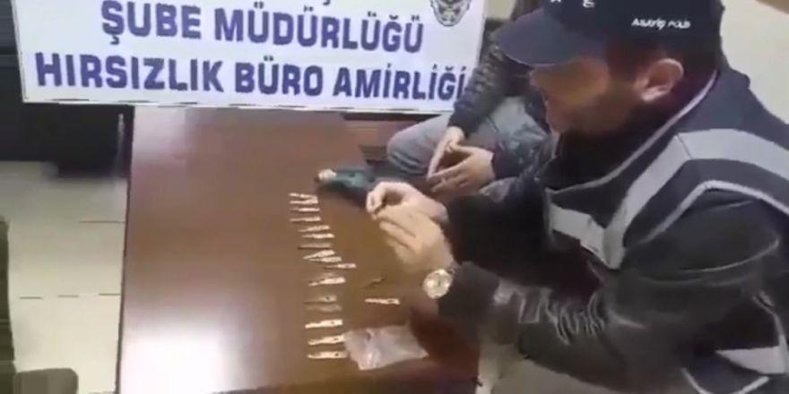 Hırsızların akıl almaz yöntemi