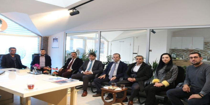 Rektör Bağlı'dan Başkan Urgenç'e iade-i ziyaret