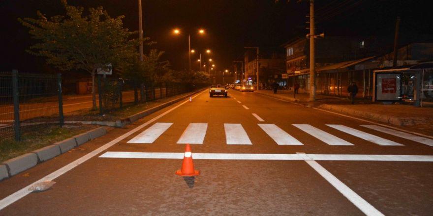 Karanlıkta önünü göremeyen sürücü bir can aldı!