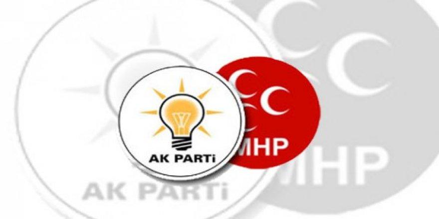 AK Parti ve MHP'nin ittifak komisyonu