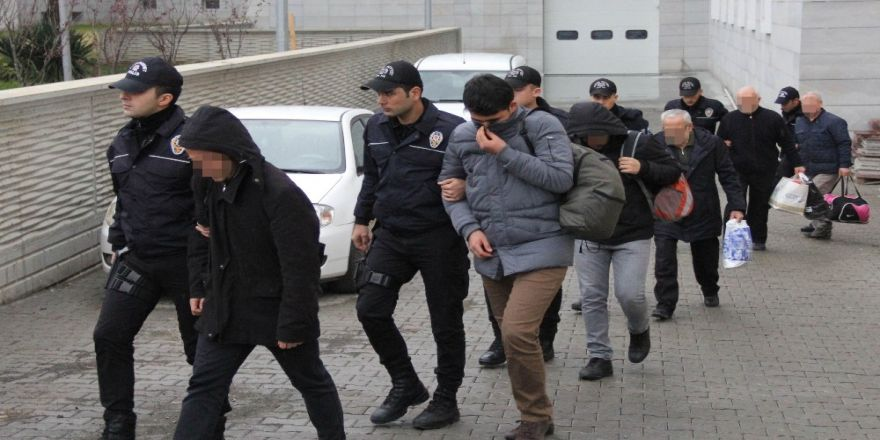 Türkmenistan ve Kazakistanlı öğrenciler adliyeye sevk edildi