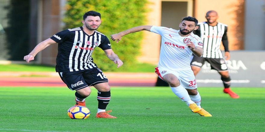 Beşiktaş kampı galibiyetle bitirdi