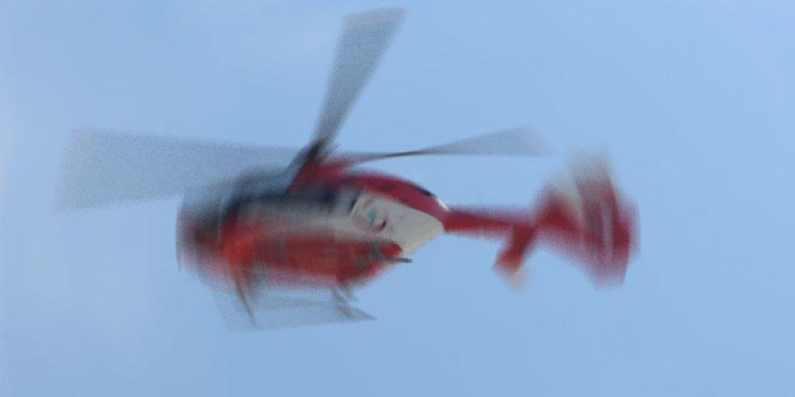 Helikopter kazası: 5 ölü, 2 kayıp