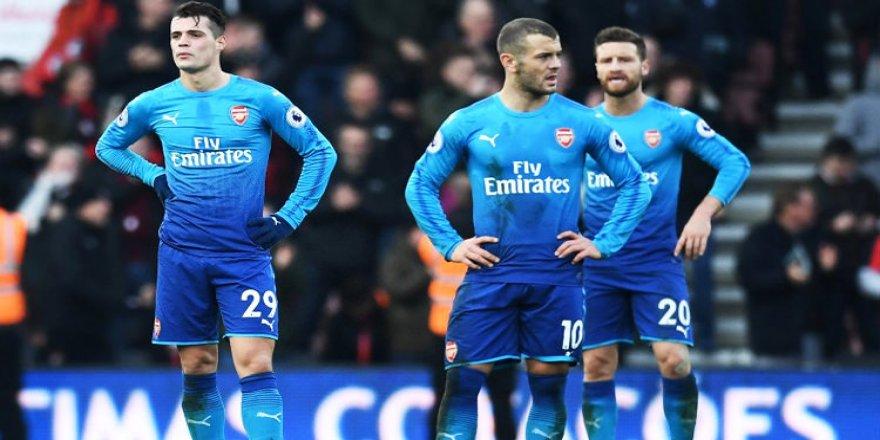 Bournemouth, Arsenal'i devirmeyi başardı