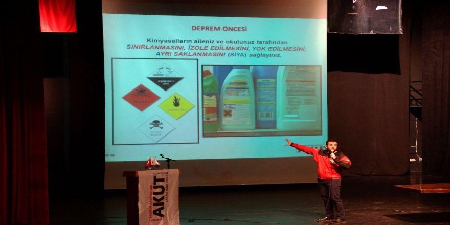 Afet Bilinçlendirme Semineri düzenlendi