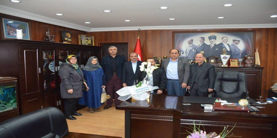 Okul müdürlerinden Başkan Demirtaş'a teşekkür ziyareti