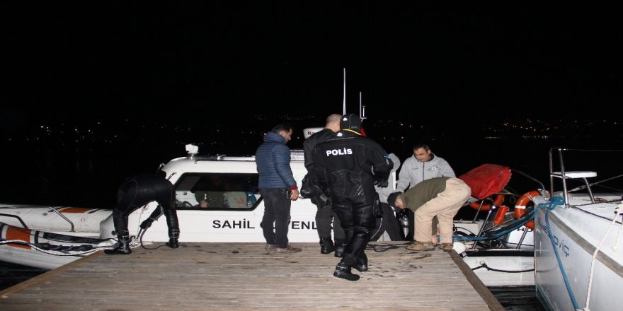Öldürülen iş adamının cep telefonları deniz dibinde bulundu