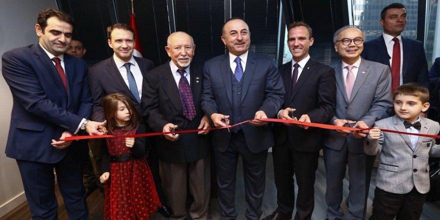 Çavuşoğlu, Vancouver Başkonsolosluğunun açılışını yaptı
