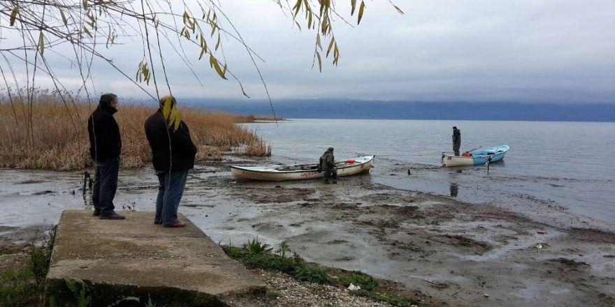 Göl 5 metre çekildi