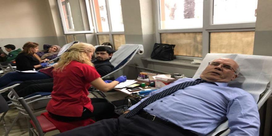 Sosyal Sorumluluk Projesi kapsamında kan bağışı