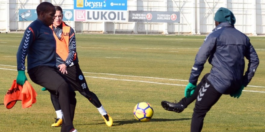 Konyaspor'da Trabzonspor hazırlığı