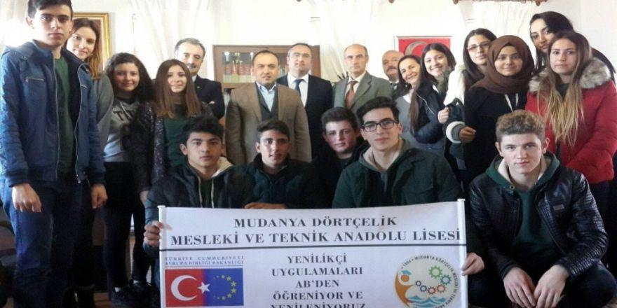 Mudanya Dörtçelik Avrupa'da staj yapacak