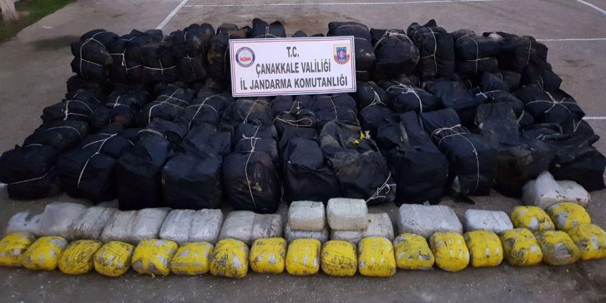 Uyuşturucu tacirlerine dev darbe: 1.7 ton !