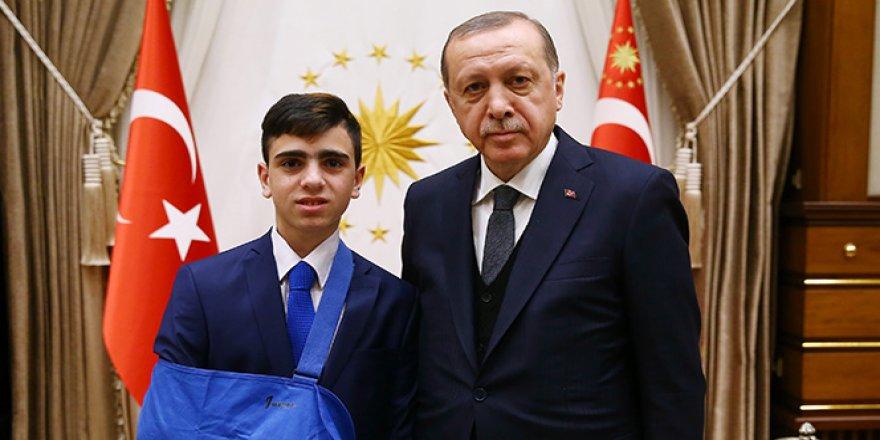 Erdoğan, Cuneydi'yi kabul