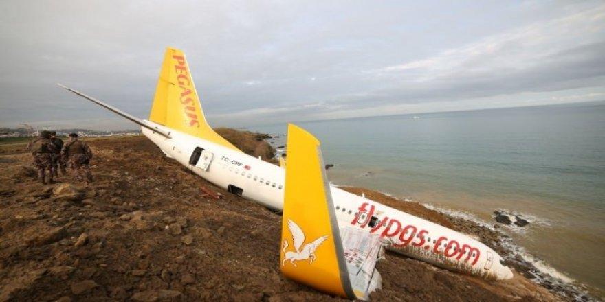 Trabzon Havalimanı uçuşlara kapatıldı
