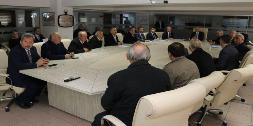 Bartın'da yılın ilk muhtarlar toplantısı yapıldı