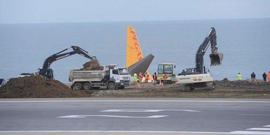Trabzon Havalimanı ucuşlara açıldı