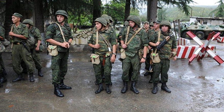 Abhazya'da 2018, askeri tatbikatlarla başladı