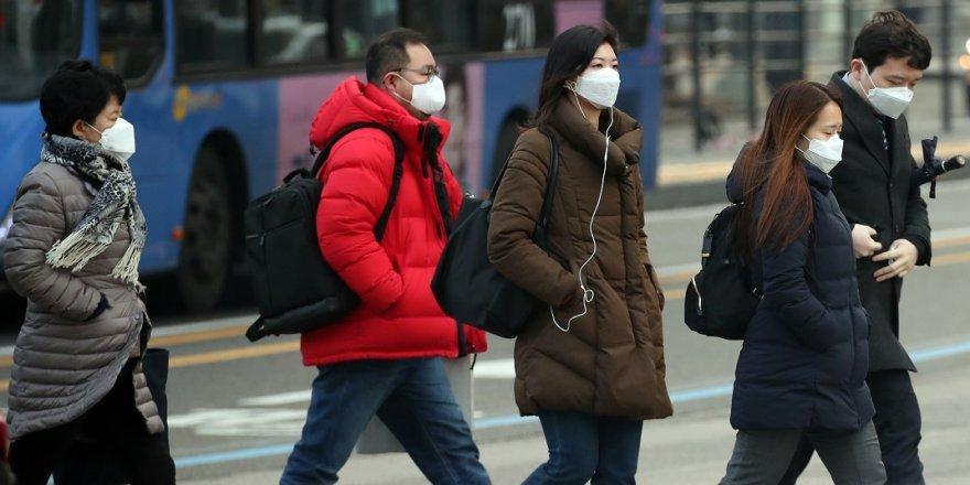 Yoğun toz bulutu Güney Kore'yi terk ediyor
