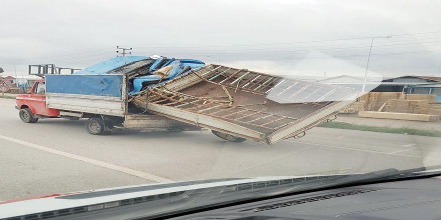 Trafikte tehlikeli taşımacılık