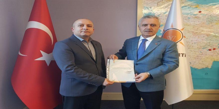 AK Parti Gemerek İlçe Başkanlığına Erdoğan atandı