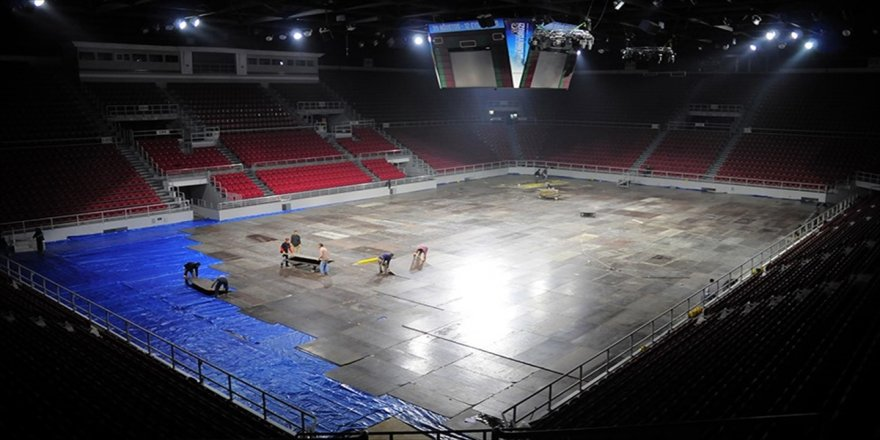 Abdi İpekçi Spor Salonu tarih oluyor