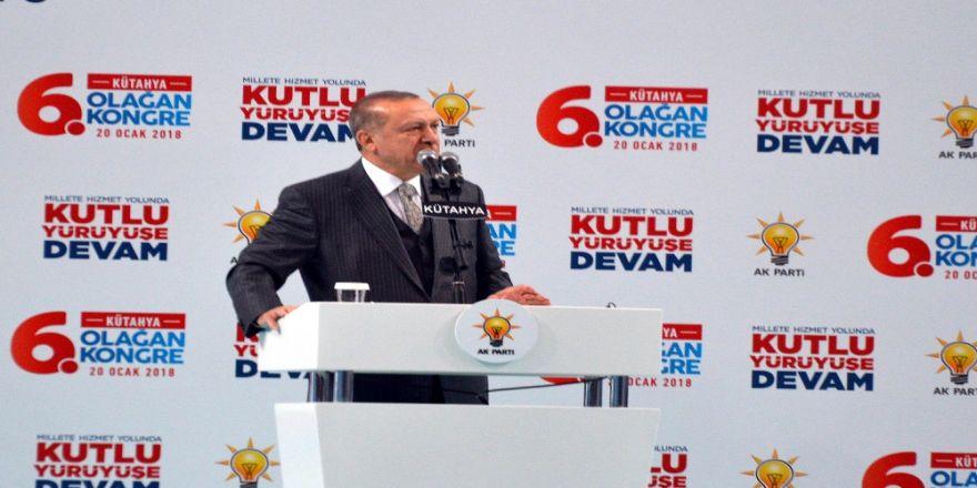 Erdoğan'dan Kılıçdaroğlu'na: PKK'lı teröristler ile kol kola varsın yürüsün