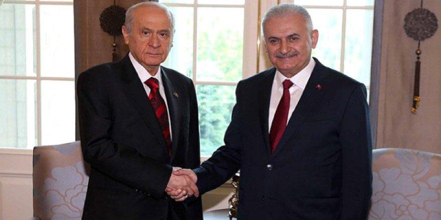 Ankara'da kritik toplantı: Yıldırım ve Bahçeli bir araya geliyor