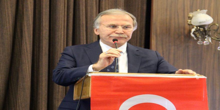 Mehmet Ali Şahin'den Gül'e eleştiri