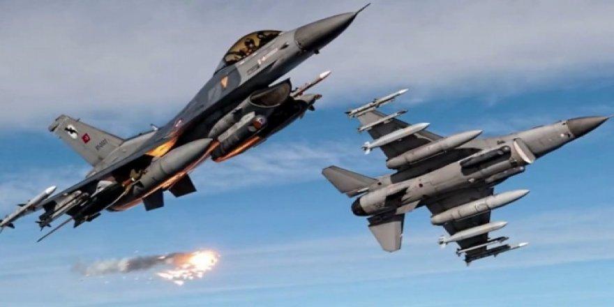 Tam teçhizatlı F-16'lar havalandı