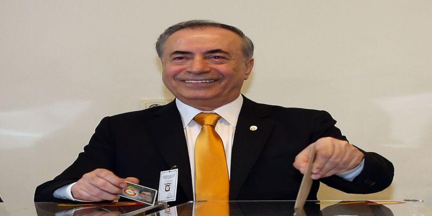 Galatasaray'da başkan değişti