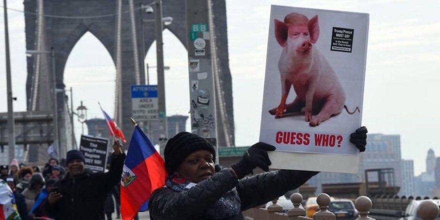 ABD'de Trump karşıtı protesto gösterileri başladı