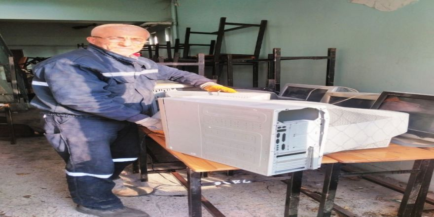 Bir yılda 15 ton 220 kilogram elektronik atık toplandı