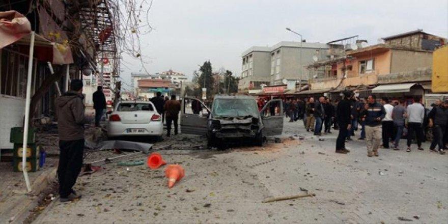 Reyhanlı'ya roketli saldırı: 1 ölü, 30 yaralı