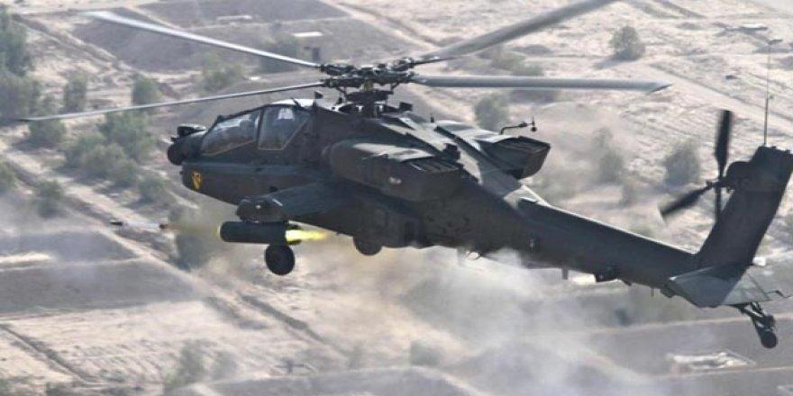 ABD ordusuna ait askeri helikopter düştü: 2 ölü