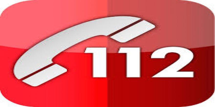 Telefoncular test için 112'yi arıyor