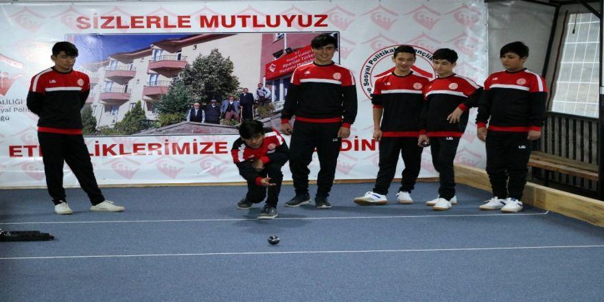 Mülteci çocuklar sınırları bocce sporu ile aşacak